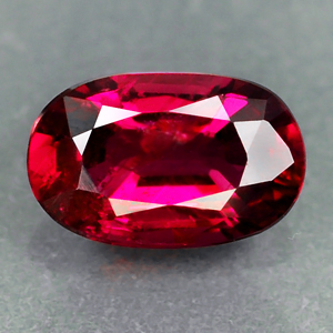 Genuine 100% Natural RUBY .54ct 6.0 x 3.8 x 2.4mm Oval