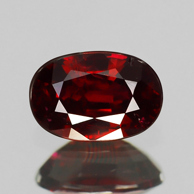 Genuine 100% Natural RUBY .67ct 6.1 x 4.1 x 2.8mm Oval (Certified)