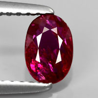 Genuine 100% Natural Ruby 0.67ct 6.3x4.5x2.3mm SI1 Mozambique