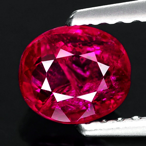 Genuine 100% Natural RUBY 1.00ct 5.9 x 5.1 x 3.1mm Oval