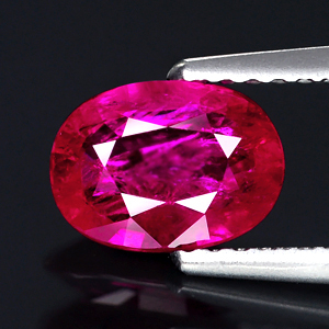 Genuine 100% Natural RUBY 1.16ct 7.7 x 5.6 x 2.8mm Oval/Mixed (Certified)