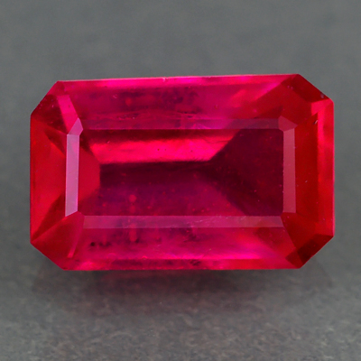 Genuine RUBY 1.19ct 7.6 x 4.7 x 3.3mm Octagon