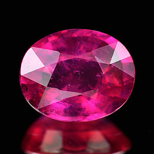 Genuine Ruby 1.51ct 7.5 x 6.0mm Mozambique VS1