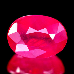 Genuine Ruby 1.61ct 7.6 x 5.6 x 4.0mm VS1