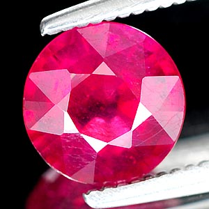 Genuine RUBY 1.64ct 6.8 x 6.8 x 4.1mm Round