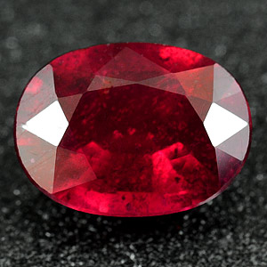 Genuine RUBY 1.64ct 8.3 x 6.1 x 3.5mm Oval