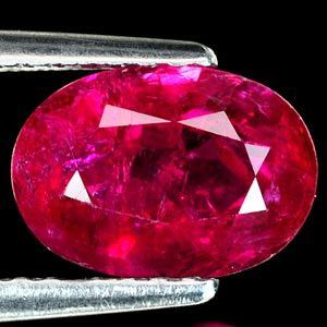 Genuine 100% Natural RUBY 1.78ct 8.6 x 6.1 x 3.9mm Oval