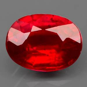 Genuine Ruby 1.93ct 8.1 x 6.1mm Oval SI Clarity