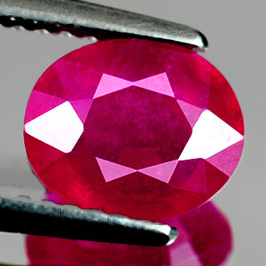 Genuine RUBY 1.95ct 7.8 x 6.6 x 4.0mm Oval