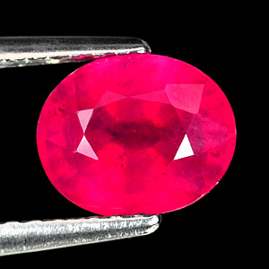 Genuine Ruby 1.96ct 7.5 x 6.2mm Oval VS1 Clarity