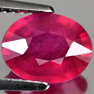 Genuine RUBY 2.20ct 9.1 x 7.2 x 3.9mm Oval