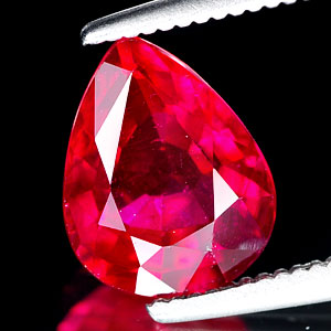 Genuine RUBY 2.23ct 9.0 x 7.0 x 4.5mm Pear