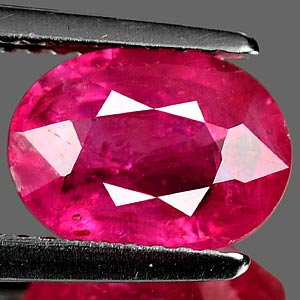 Genuine Ruby 2.36ct 9.1 x 6.8mm Oval VS1 Clarity