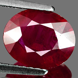 Genuine RUBY 2.52ct 9.0 x 7.4 x 4.1mm Oval