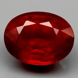 Genuine Ruby 2.54ct 9.0 x 7.0mm Oval SI Clarity