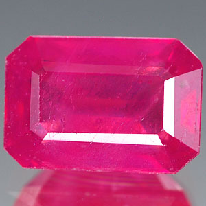 Genuine RUBY 2.69ct 9.0 x 6.2 x 4.4mm Octagon