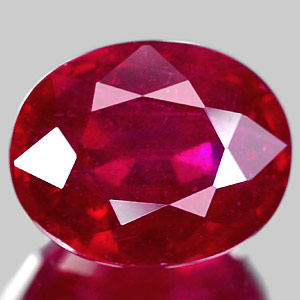 Genuine RUBY 2.77ct 9.4 x 7.2 x 4.9mm Oval