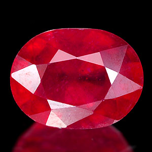Genuine RUBY 2.99ct 9.0 x 6.8 x 5.1mm Oval