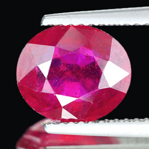 Genuine RUBY 3.11ct 9.7 x 8.3 x 4.2mm Oval