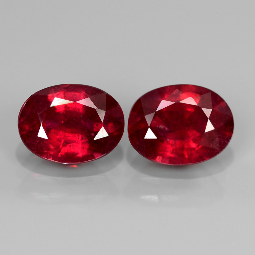 Genuine Ruby 1.63ct 7.8x6mm SI1 Madagascar