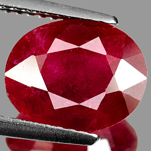 Genuine RUBY 3.46ct 10.3 x 8.4 x 4.3mm Oval