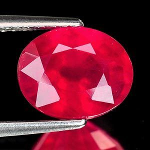 Genuine Ruby 3.51ct 9.4 x 7.7mm Oval VS1 Clarity
