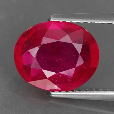 Genuine RUBY 3.56ct 10.4 x 8.6 x 4.3mm Oval