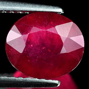 Genuine Ruby 3.84ct 9.1 x 7.7mm Oval VS1 Clarity
