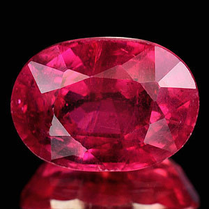 Genuine RUBY 3.85ct 10.3 x 7.4 x 5.6mm Oval