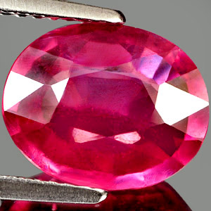 Genuine RUBY 3.97ct 11.1 x 8.9 x 4.3mm Oval