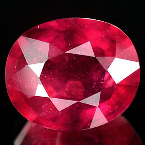Genuine RUBY 4.06ct 10.2 x 8.5mm Oval SI1 Clarity