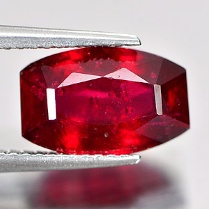 Genuine Ruby 4.26ct 11.0 x 7.2mm Fancy Shape SI1 Clarity