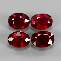Genuine Ruby 1.09ct 6.8x5mm SI1 Madagascar