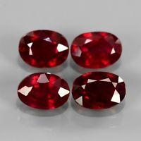 Genuine Ruby 1.09ct 6.8x5mm SI1 Madagascar