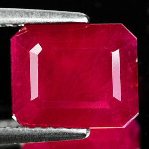 Genuine RUBY 4.91ct 9.3 x 7.7 x 5.9mm Octagon