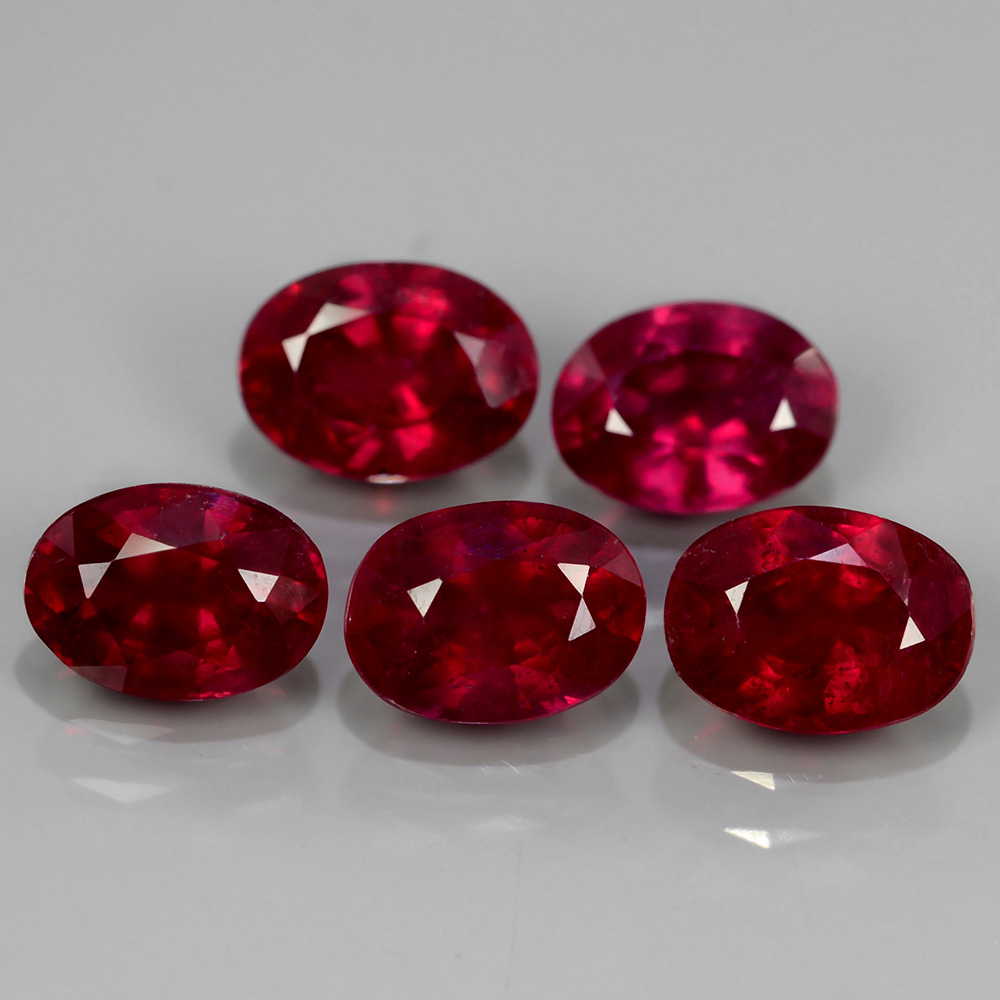 Genuine Ruby 1.16ct 7x5mm SI1 Madagascar