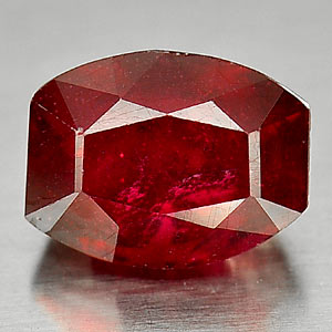 Genuine Ruby 6.05ct 10.9 x 8.6mm Fancy Shape SI2 Clarity