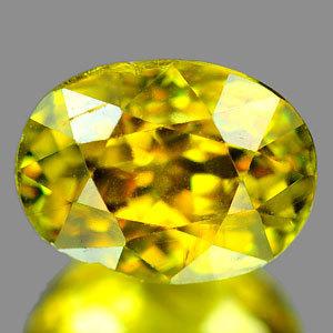 Genuine 100% Natural Sphene 1.39ct 7.1 x 5.3 x 4.7mm SI