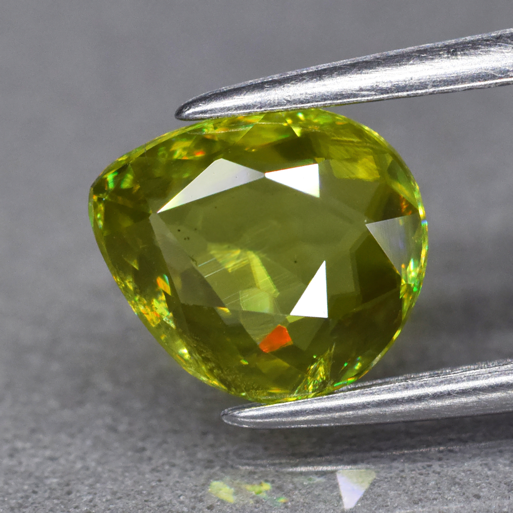 Genuine 100% Natural Sphene 1.46ct 8.0 x 7.0mm Pear SI1 Clarity