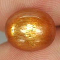 Genuine 100% Natural Sunstone 3.59ct 10.4x8.7x6.0mm Opaque Madagascar