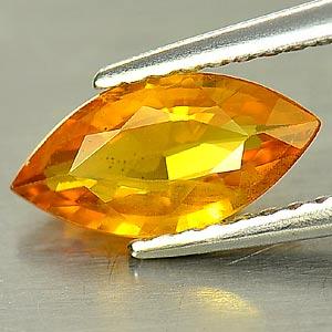 Genuine Orange Sapphire 1.14ct 9.9 x 5.0mm Marquise SI1 Clarity