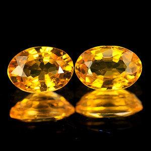 Genuine Yellow Sapphire 0.60cts 6.1 x 4.1 x 2.6mm Tanzania VVS