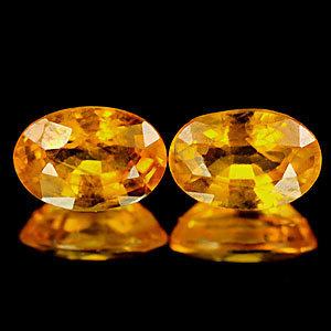 Genuine Yellow Sapphire 0.65cts 6.1 x 4.2 x 2.9mm Tanzania SI