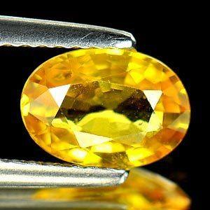Genuine Yellow Sapphire 1.58ct 7.7 x 5.8 x 3.6mm Thailand VVS