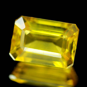 Genuine Yellow Sapphire 1.74ct 7.7 x 5.4 x 3.7mm Thailand IF