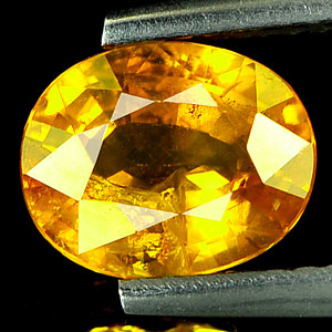 Genuine Yellow Sapphire 2.02ct 8.5 x 6.9mm Oval SI Clarity