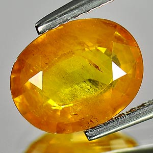 Genuine Yellow Sapphire 2.48ct 9.4 x 7.4mm SI Clarity Oval