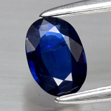 Genuine Blue Sapphire .48ct 6.0 x 4.2mm Oval SI1 Clarity