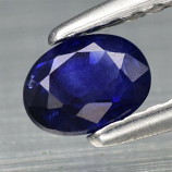Genuine 100% Natural Blue Sapphire .48ct 4.91 x 3.72mm Oval SI1 Clarity (Certified)