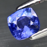 Genuine Blue Sapphire .57ct 4.8 x 4.7mm Cushion VS Clarity